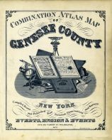 Title Page, Genesee County 1876